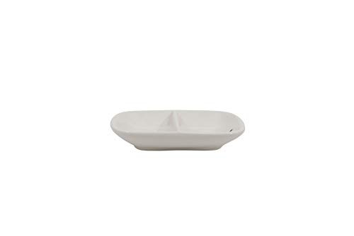 fedaffdb72 Creative Co-op Ceramic 2 Section Mr. And Mrs. Ring Dish -   597.00 ...