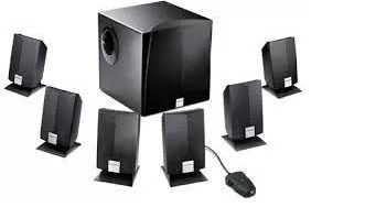 creative labs inspire 6600 6.1 computer speakers 7 parlantes