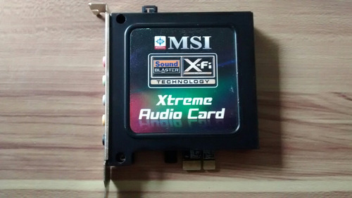 creative® sb x-fi xtreme h/w audio card (ms-4132)