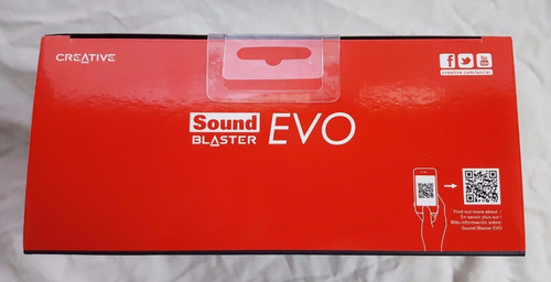 creative sound blaster evo gh0260 usb iphone samsung pc ps4