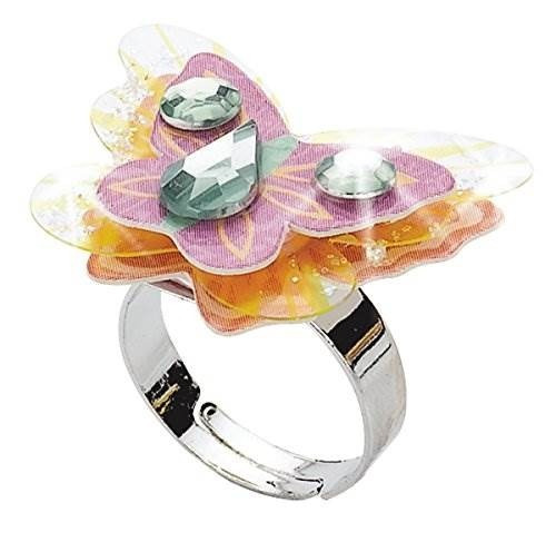 40916a014e5f Creatividad Para Niños. Kit Para Hacer Anillos De Diamantes