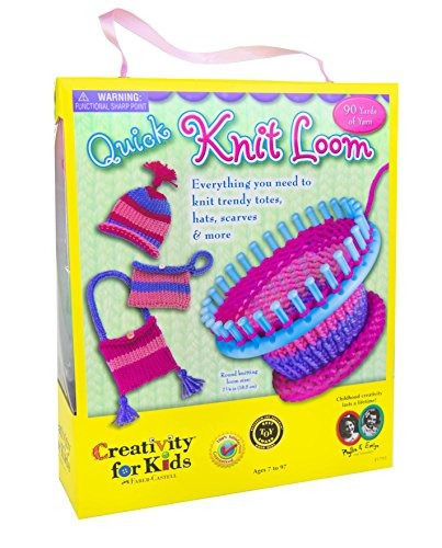 creativity for kids quick knit loom - enseña habilidades y c