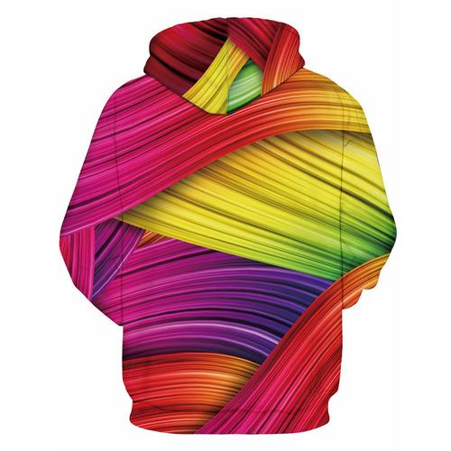 creativo diseño 3d arco iris colorido impresión jersey cap