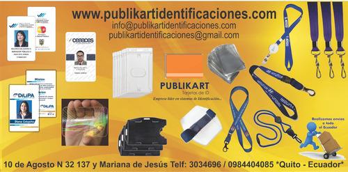 credenciales de identificacion, cintas porta credenciales,