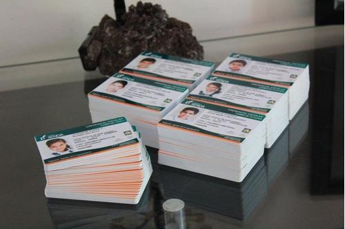 credenciales de pvc - gafetes
