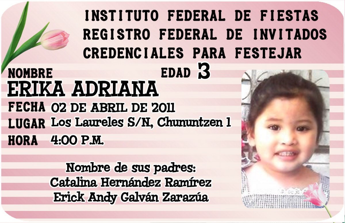 Credenciales De Pvc, Identificación, Invitaciones - $ 35.00 en ...