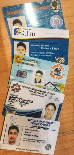 credenciales de pvc, membresías