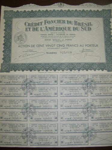 crédit foncier du brésil et de l´amerique du sud