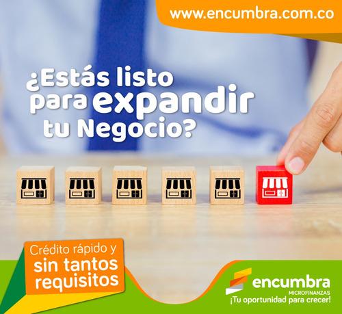 créditos a independientes y microempresarios.