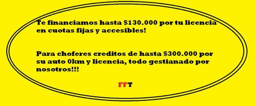 créditos del ciudad para los chóferes con antiguedad!!!