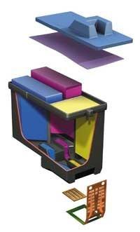 créditos em tinta para recarga de cartucho inkjet