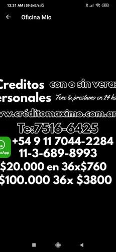 creditos préstamos con o sin veras