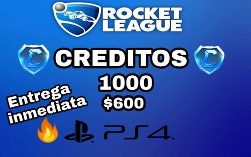 creditos rocket league -entrega inmediata- ps4
