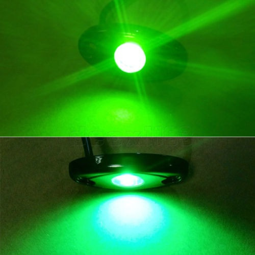cree 16pcs led rock ligero jeep wrangler... (green)