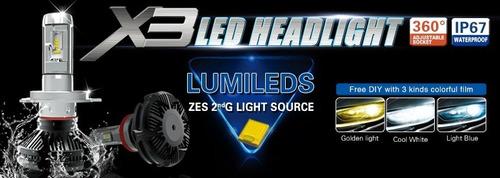 cree led 12v 24v  bus auto h4 h1 h3 h7 h11 h16 h27 9006