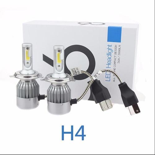 cree led  h4 alta y baja 36w 3800lm c/ lamp overcars