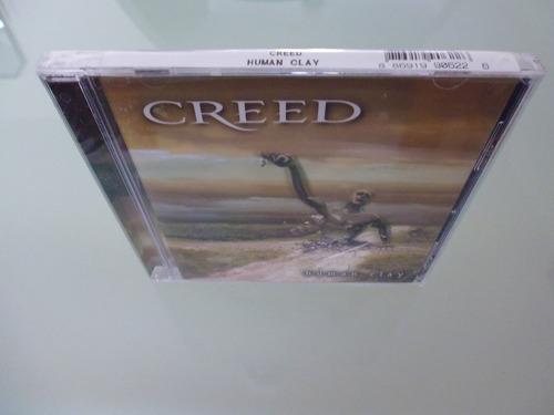 creed / human clay / cd / importado de u.s.a / nuevo /