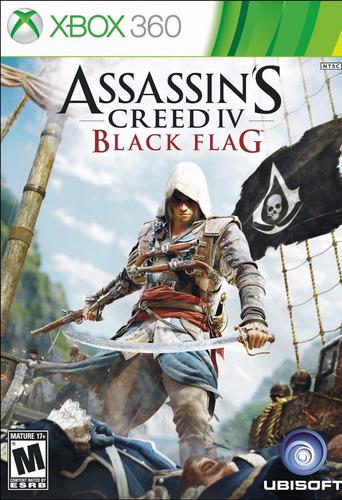 creed iv bandera negro assassin - xbox 360