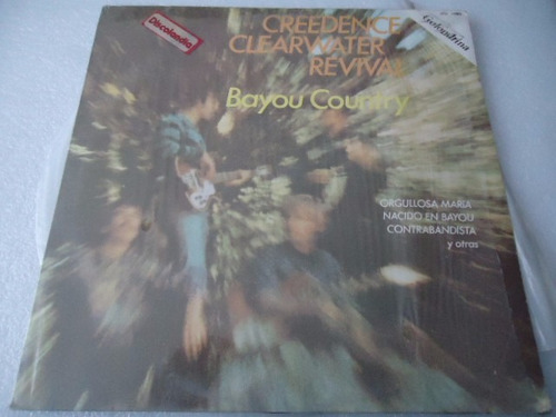 creedence clearwater revival bayou country vinyl lp acetato