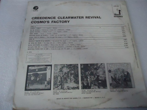 creedence clearwater revival / cosmo s factory vinyl lp