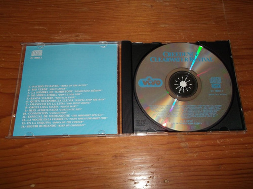creedence clearwater revival en vivo cd nac 1992 raro mdisk