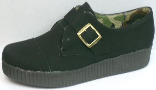 creepers zapatos mocasines plataforma