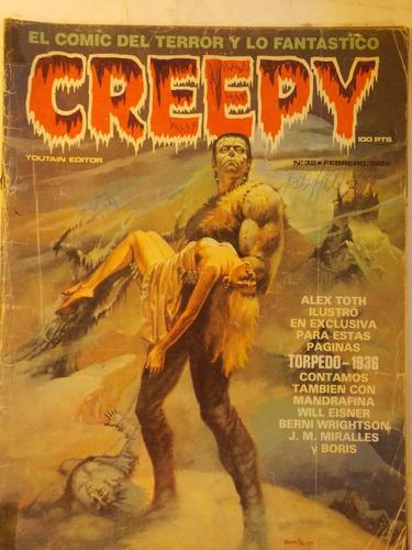 creepy, comic del terror, 1982 españa, nº 32