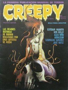 creepy cuentos de la cripta terror 101 revistas digitales