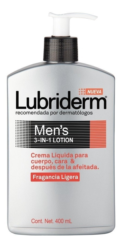 Crema lubriderm hombre
