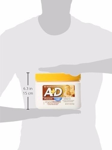 crema a+d antipañalitis lb 454 grs  el baúl de jero