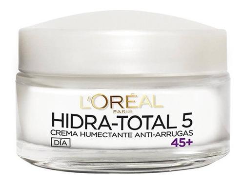 crema anti-arrugas 45+ hidratación total 5 loréal paris