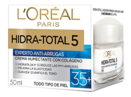 crema antiarrugas hidra-total 5 loreal