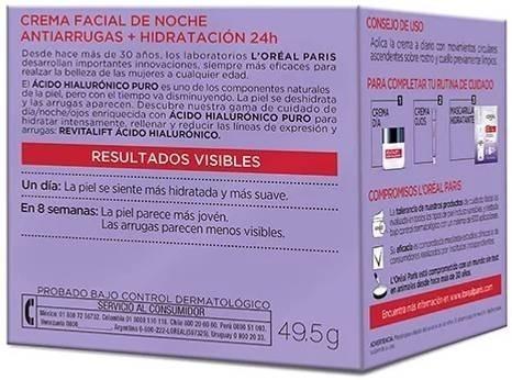 crema antiarrugas loreal revitalift kit acido hialuronico