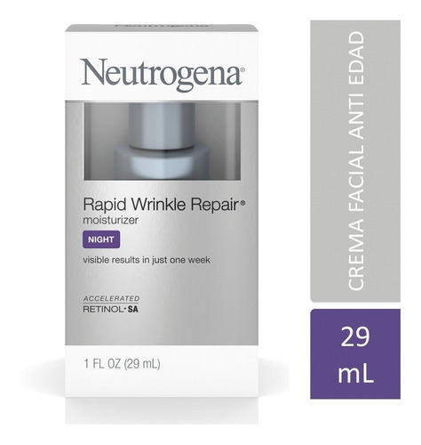 crema antiedad neutrogena rapid wrinkle repair noche