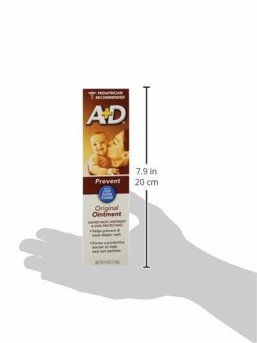 crema antipañalitis a+d 4 oz 113grs pañalitis
