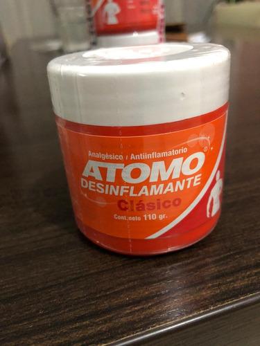 crema atomo  desinflamante 110gr