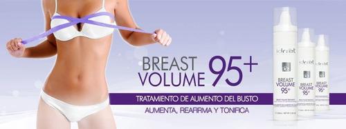 crema aumento de busto y gluteos breast volume 95+ idraet