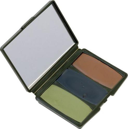 crema camuflage marca hunter 260 3 colores camp c/espejo -37