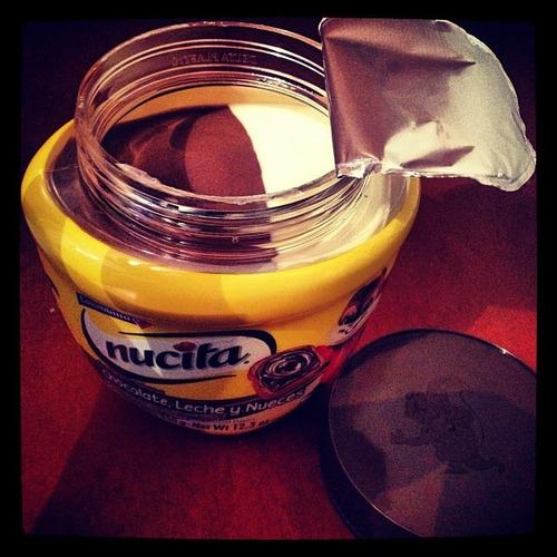 crema chocolate nutella avellana trio chocoramo, nucita, jet