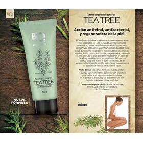 Crema Con Tea Tree Combate Hongo Herpe Alergia Picazon