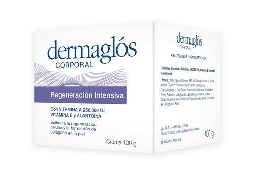 crema corporal dermaglós regeneración intensiva x 100 gr