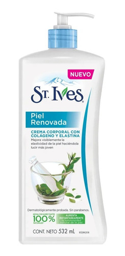 crema corporal piel renovada st ives humectante 532ml