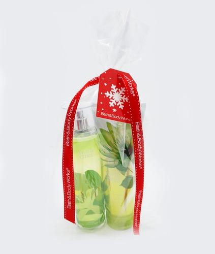 crema corporal y fragancia bath & body works kit