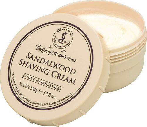 crema de afeitar sándalo, 5.3 onzas