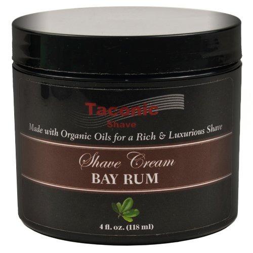 crema de afeitar taconic shave aceite coco orgánico y miel.