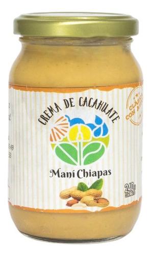 crema de cacahuate  many chiapas
