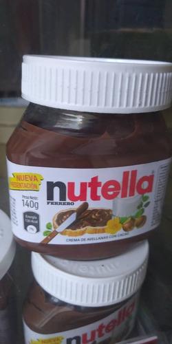 crema de chocolate nutella 371gr