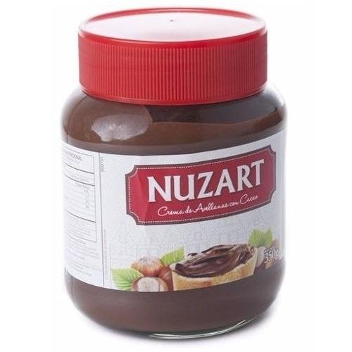 crema de chocolate nuzart nutella importado alemania ® 350gr