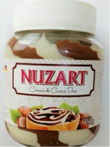 crema de chocolate y avellanas nuzart