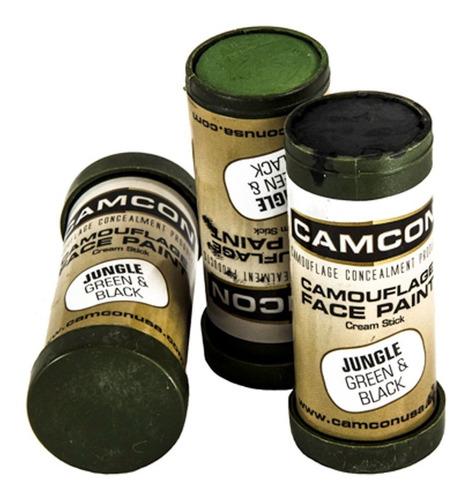 crema de enmascaramiento camuflaje militar barra charlie usa
